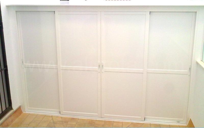 Armario de aluminio para exterior stunning armario p caj for Armarios baratos jumbo
