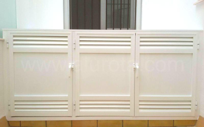 Armarios aluminio para terrazas perfect armarios aluminio - Mueble para terraza ...