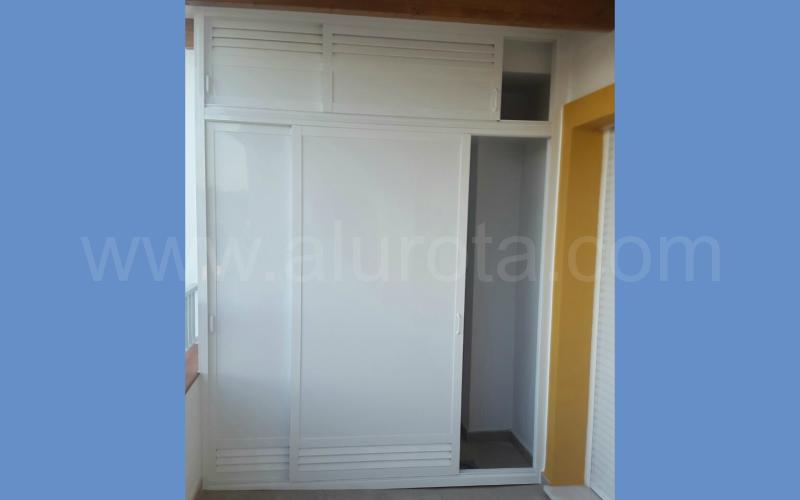 Muebles A Medida Alurota - Armarios-empotrados-de-aluminio